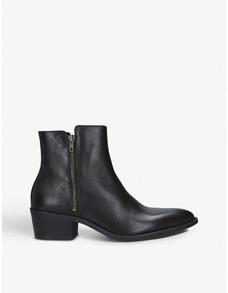 Kurt Geiger London Ross leather ankle boots