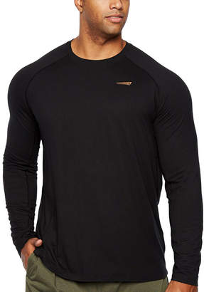 COPPER FIT Copper Fit Long Sleeve Crew Neck T-Shirt-Big and Tall