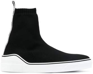 Givenchy slip-on logo sneaker boots