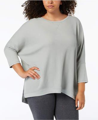 Calvin Klein Plus Size 3/4-Sleeve Top