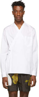 3.1 Phillip Lim White Kimono Style Shirt