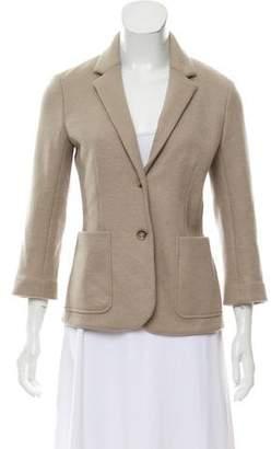 The Row Virgin Wool Notch-Lapel Jacket