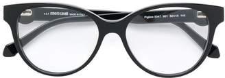 Roberto Cavalli round bold glasses