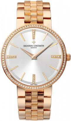 Vacheron Constantin 81577/v01r-9271 Traditionnelle 18K Rose Gold 38mm Watch $49,000 thestylecure.com