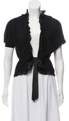 Nina Ricci Short Sleeve Knit Bolero