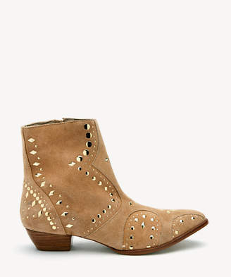 Matisse Women's Kirin Studded Boots Natural Size 6 Suede From Sole Society