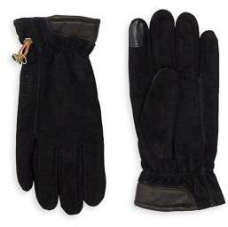 Timberland Seabrook Leather and Suede Gloves