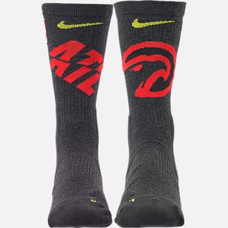 Nike Unisex Atlanta Hawks NBA Team Elite Crew Basketball Socks