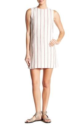 Theory Adraya Striped Linen Dress