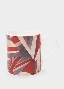 Paul Smith 'Union Jack' Print Bone China Mug