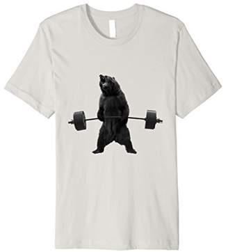 Grizzly Bear Deadlift - Slim Fit Premium Gym Shirt