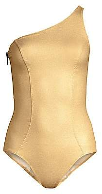 Lisa Marie Fernandez Women's Arden Metallic One-Piece Swimsuit