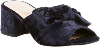 Sole Society Velvet Knotted Mules - Cece