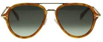 Celine Unisex Sunglasses CL41374 UFP Light Havana Aviator 54mm Authentic