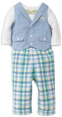 Little Me Boys' Handsome Vest, Bodysuit & Pants Set - Baby