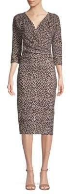Max Mara Saggio Cheetah-Print Dress