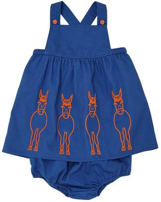 Stella McCartney Light Gabardine Dress & Diaper Cover