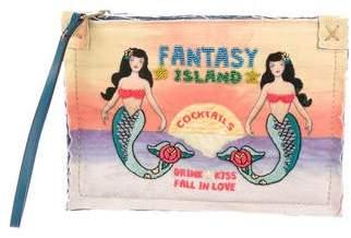 Sarah's Bag 2016 Fantasy Island Zip Pouch
