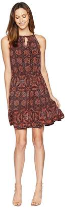London Times Halter Neck Dress Women's Dress
