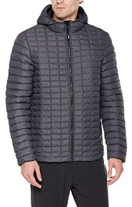 Outdoor Ventures Men's Arctic Thermolite Ball Quilted Jacket Dark Grey