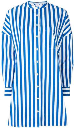 Aspesi oversized striped shirt