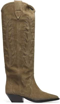 Isabel Marant Patterned High Boots