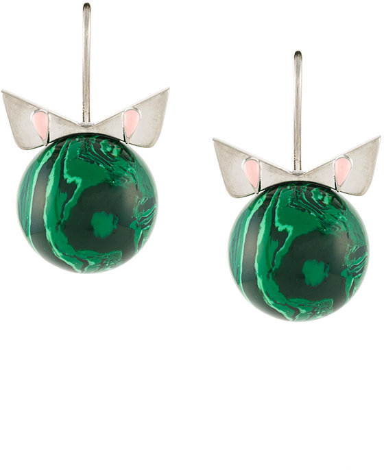 Fendi Fendi Crystal Wonder earrings