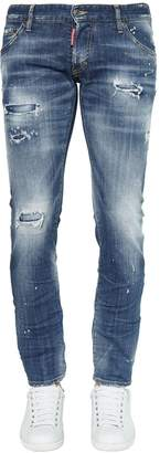 DSQUARED2 16.5cm Clement Cotton Denim Jeans