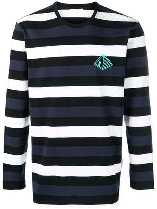 Les Benjamins Crochaia striped T-shirt