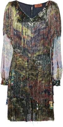Missoni Floral Fringe Dress