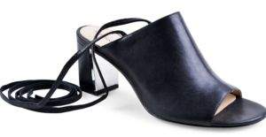 Adrienne Vittadini Panak Lace-Up Sandals