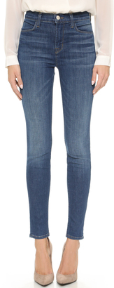 J Brand Maria High Rise Skinny Jeans $218 thestylecure.com