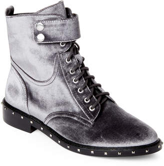 Vince Camuto Granite Peak Talorini Studded Velvet Combat Boots