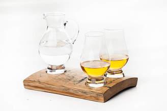 Phil Rao Studio Two Glencairn Whisky Glass And Jug Holder Set