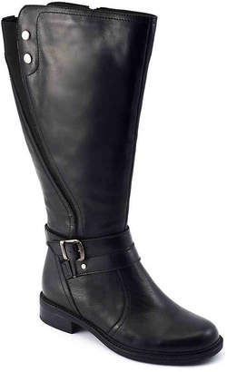 David Tate Safina Extra Wide Calf Riding Boot - Women's