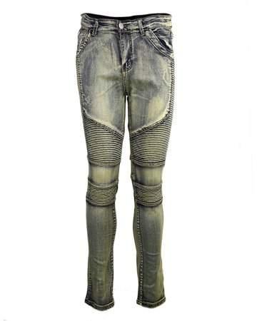 TurdyIsa Comfortable Denim Trousers Elastic Jeans Casual Slim Men Jeans Long Pants Size 29