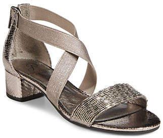 Adrianna Papell Taegan Leather Sandals