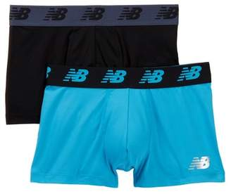 """New Balance Performance Everyday 3\"""" Trunks - Pack of 2"""