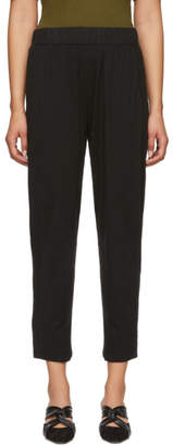 Raquel Allegra Black Signature Easy Lounge Pants