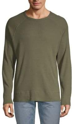 French Connection Textured Cotton Sweater