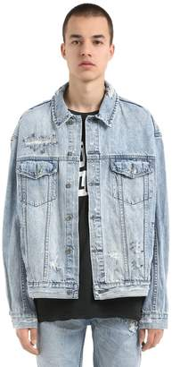Ksubi Oh G Punk Pin Cotton Denim Jacket