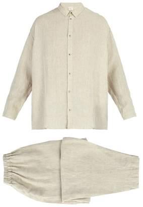 BEIGE Once Milano - X Toogood Linen Pyjamas - Mens
