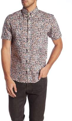 Kennington Funky Town Short Sleeve Slim Fit Shirt