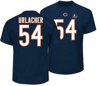 Majestic Men Brian Urlacher Chicago Bears Hall of Fame Eligible Receiver Triple Peak T-Shirt
