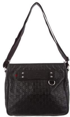 Gucci Rubber Guccissima Messenger Bag