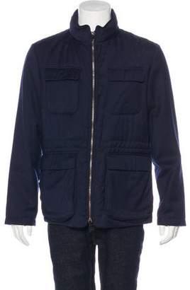 Armani Collezioni Wool Field Jacket