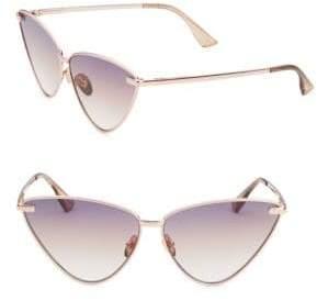 Le Specs Luxe Nero Cat Eye Sunglasses