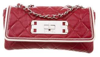 Chanel Quilted E/W Flap Bag