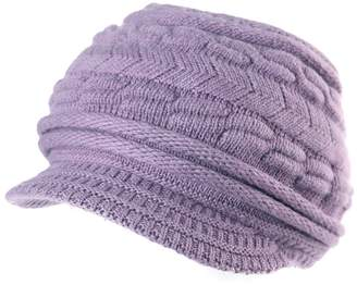 Siggi Winter Spring Knitted Berets Hats Girls Peaked Warm Solid Soft Viscose Beanies Skullies Cute Casual 89509