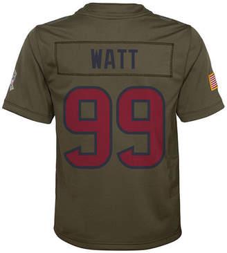 Nike J.j. Watt Houston Texans Salute To Service Jersey, Big Boys (8-20)